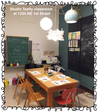 Classroom with Frame