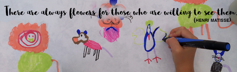 Drawing with Matisse Quote